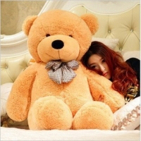 "42"" light brown teddy"