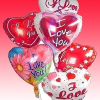 Love You Balloons Bouquet