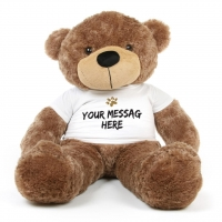 Mocha Brown Personalized Teddy Bear