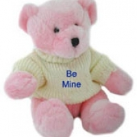 "24"" Be Mine Teddy Bear with T-shirt"